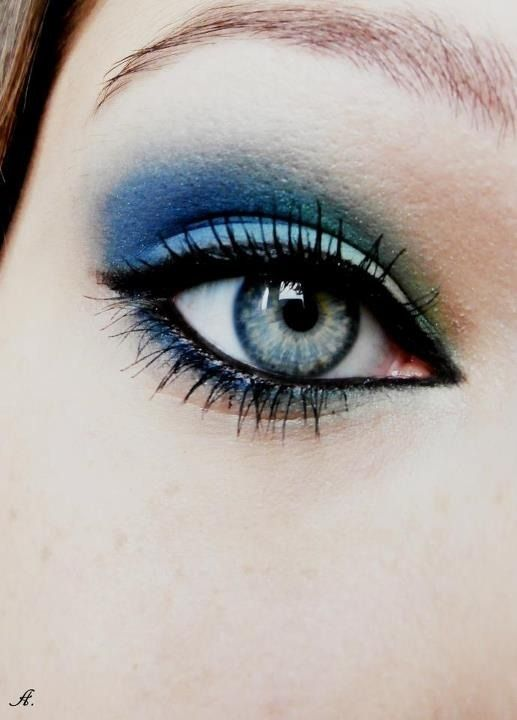 Love the blue!