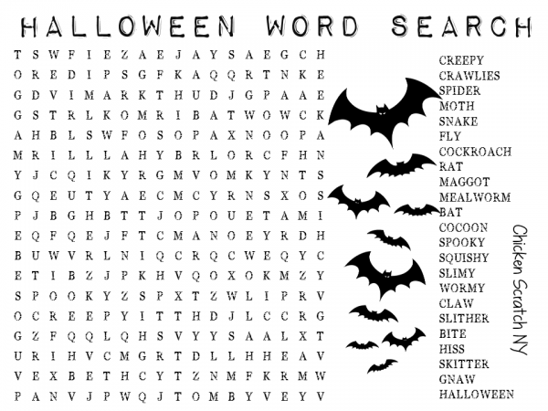 Printable Halloween Word Search | Halloween word search, Halloween ...