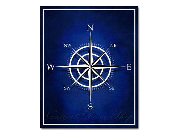 compass nautical decor nautical compass art by nauticaldecorshop 900 - Nautical Decor