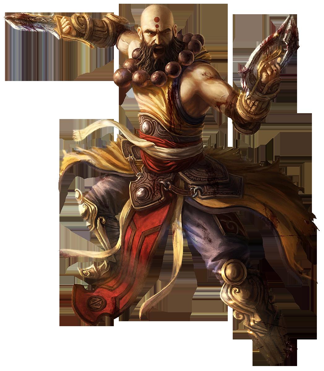 Diablo Iii Monk Render By Crussong