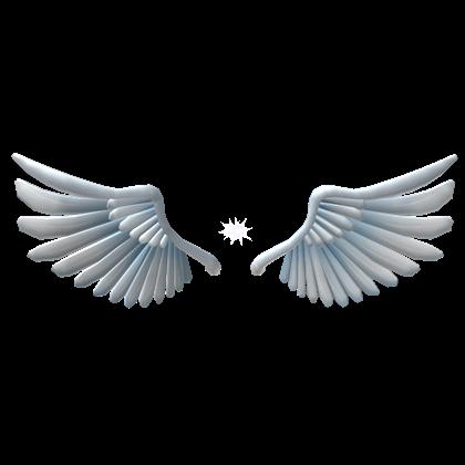 Sparkling Angel Wings - ROBLOX   roblox   Angel wings, Wings
