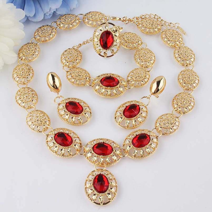 Cheap set fondue Buy Quality necklace jewelry set directly from