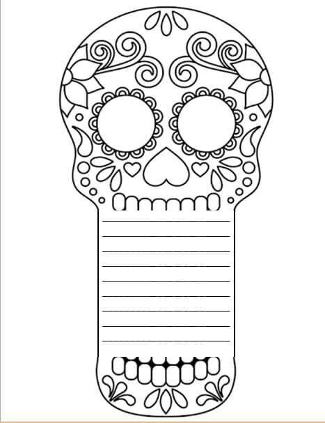 Acto Fin D Ano Dibujo Dia De Muertos Actividades Dia De Muertos Dia De Muertos