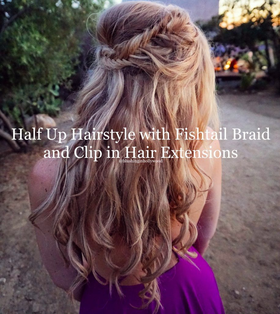wedding hairstyle ideas using girl get glamorous clip in