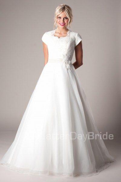 'Westbury' modest bridal ballgown $699 White Friday Sale