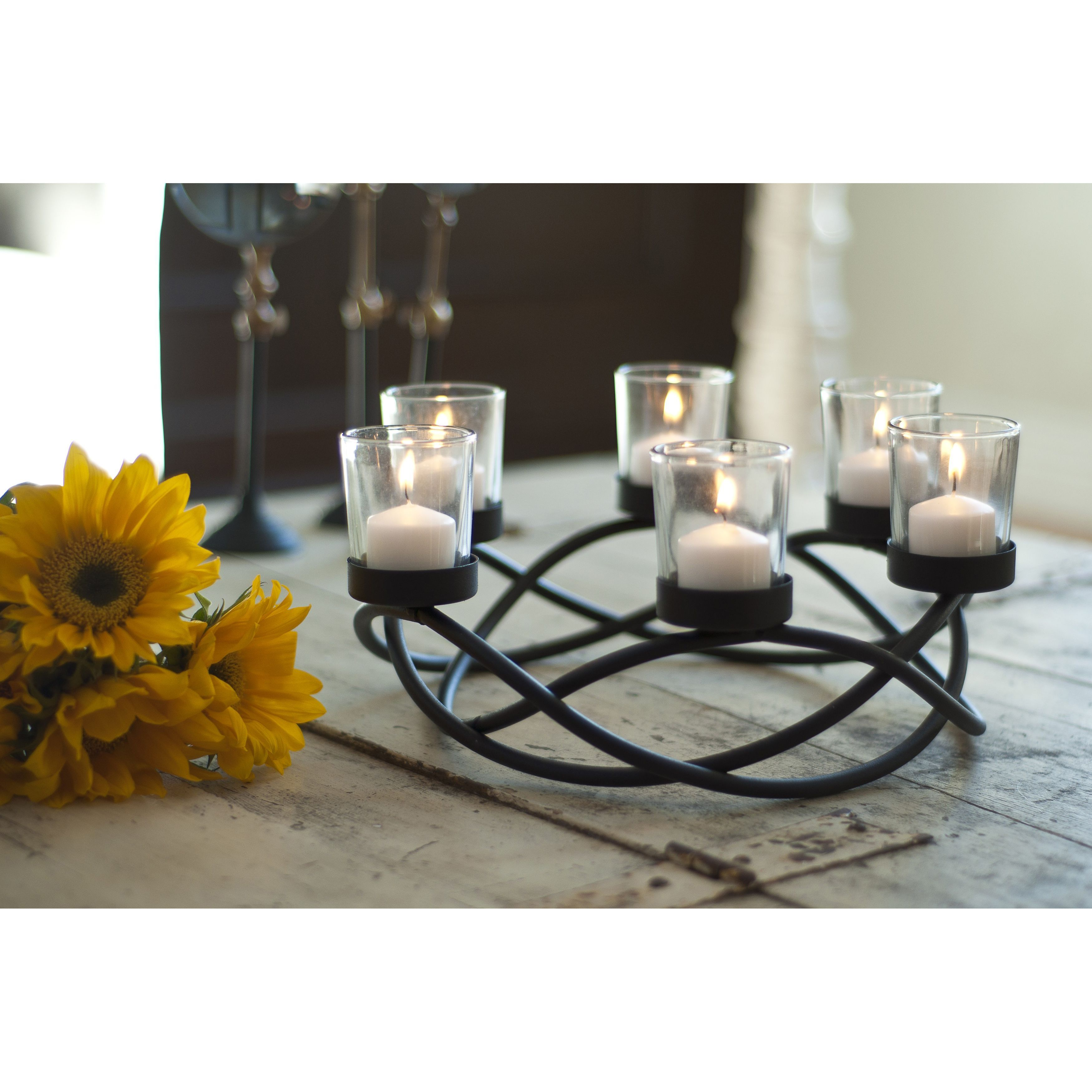 Overstock Com Online Shopping Bedding Furniture Electronics Jewelry Clothing More Candleholder Centerpieces Round Candle Holder Candle Holders