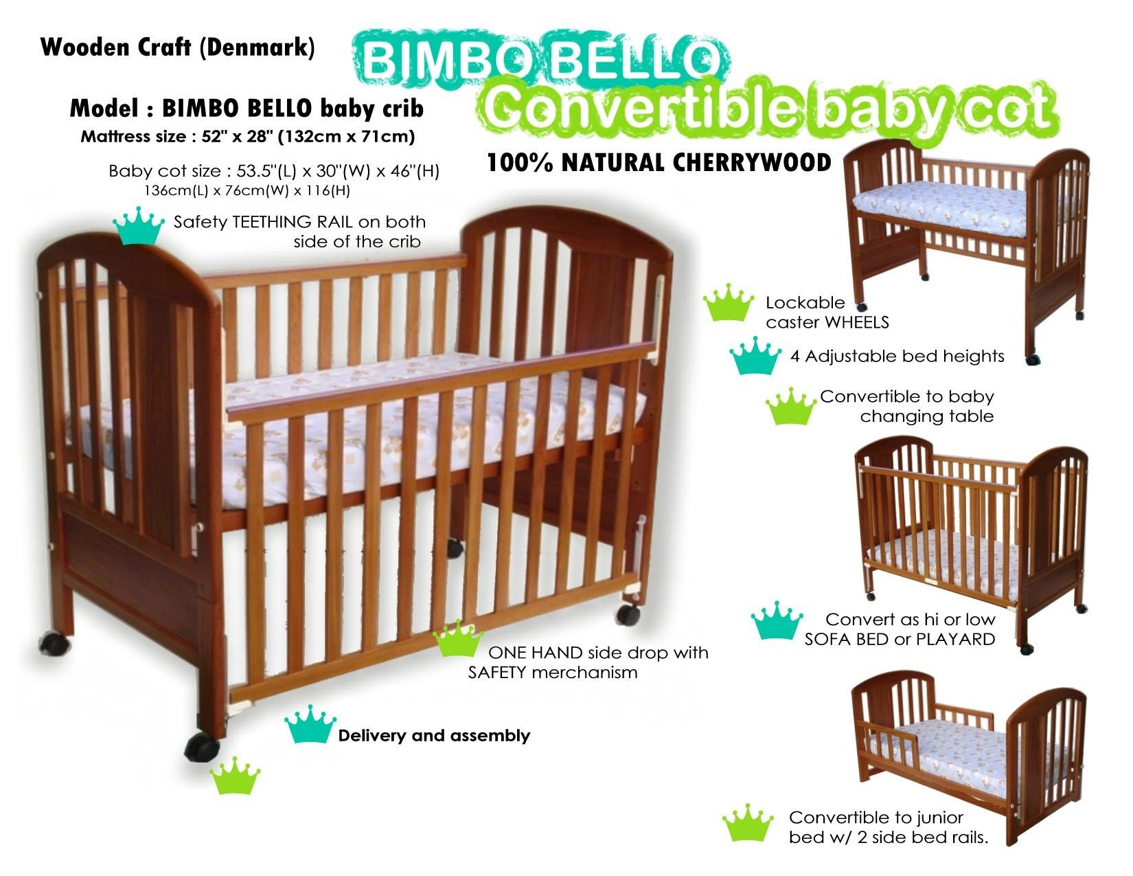 Baby cribs with mattress on sale - Baby Crib Mattress Frame Baby Cots Bimbo Bello Crib Cot Bed Baby Crib Cot Newborn