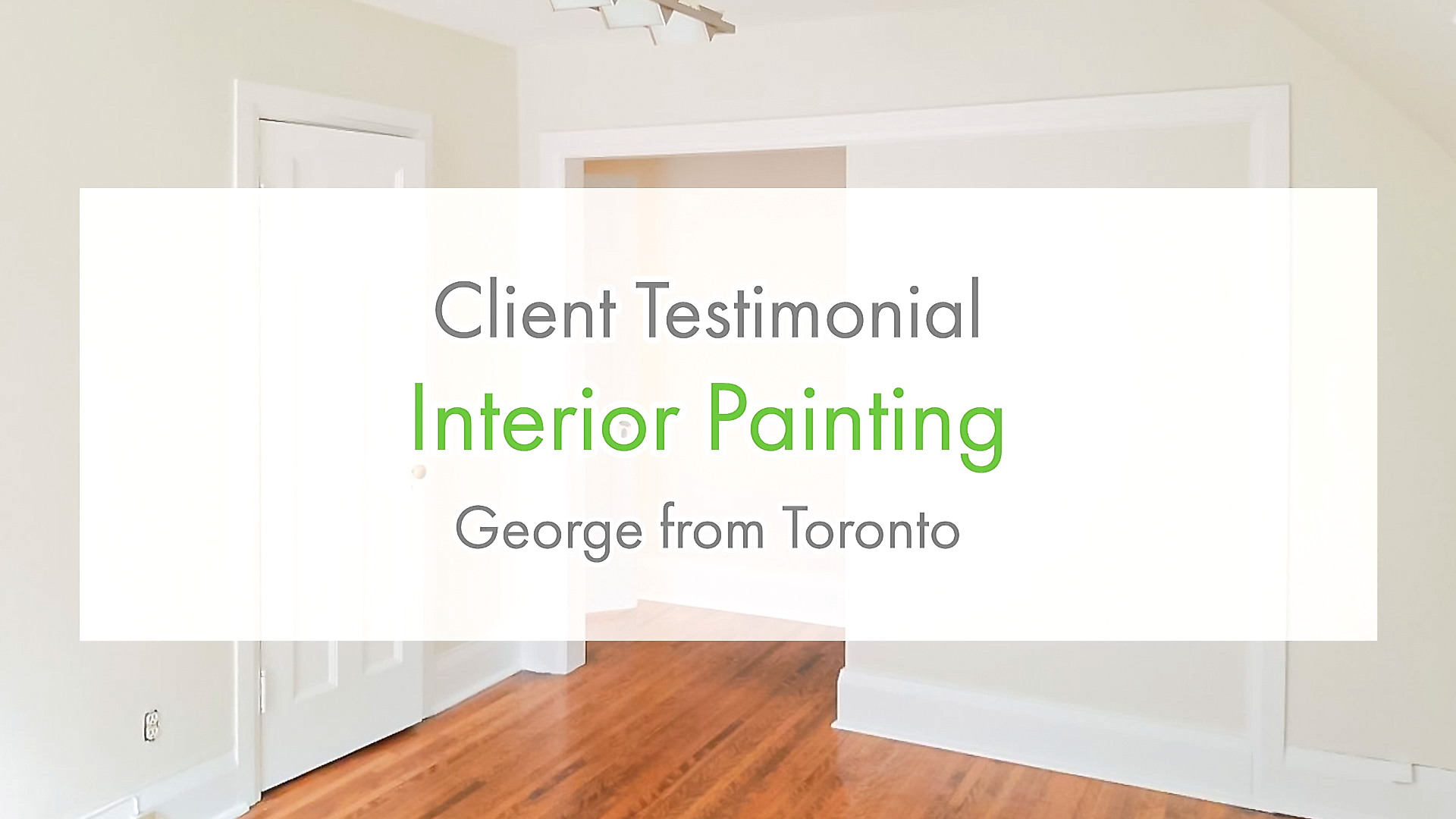 Glad to service you George! 😁  Get featured on our next testimonial!  📞 416-494-9095   📨 Email us at Sales@HomePaintersToronto.com   🌐 www.HomePaintersToronto.com & www.HomePaintersOttawa.com   #HomeGoals #Testimonial #Interior #homepainters #paint #reno #renovation #Rating #Canada #Toronto #Ottawa #HomeLove #HomeInspo #Review #Client
