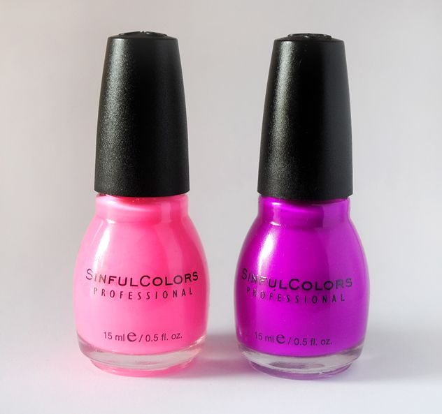 Sinful Colors NEON Nail Polishes in \