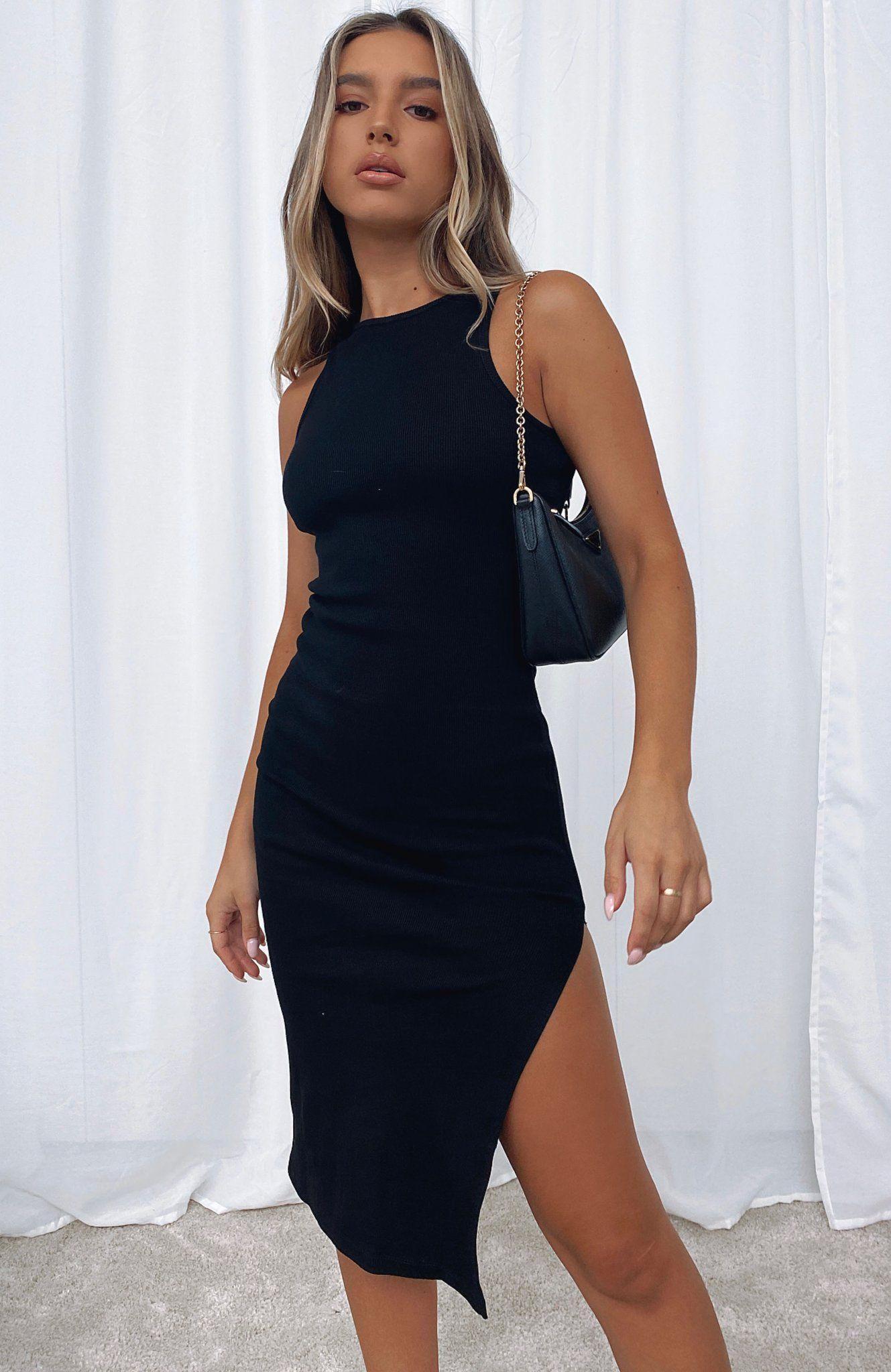 Meet Again Midi Dress Black In 2021 Black Midi Dress Midi Dress Fitted Midi Dress [ 2048 x 1329 Pixel ]