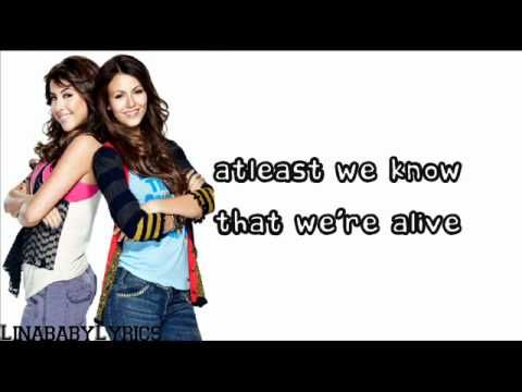 All I Want Is Everything Victoria Justice Ft Victorious Cast Lyrics On Victoria Justice Victorious Cast It Cast