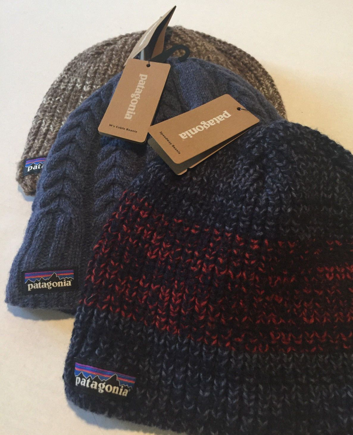 8a718ed9ea1e2 Hats and Headwear 62175  Patagonia Adult Speedway Beanies Nwt Assorted  Colors 70% Wool 25