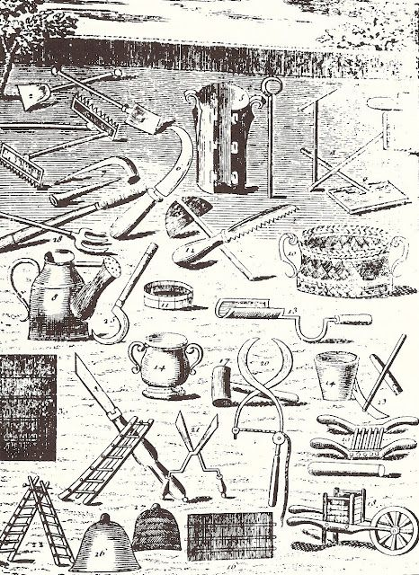 Early American Gardens Farms With Images Garden History Garden Tools Vintage Gardening