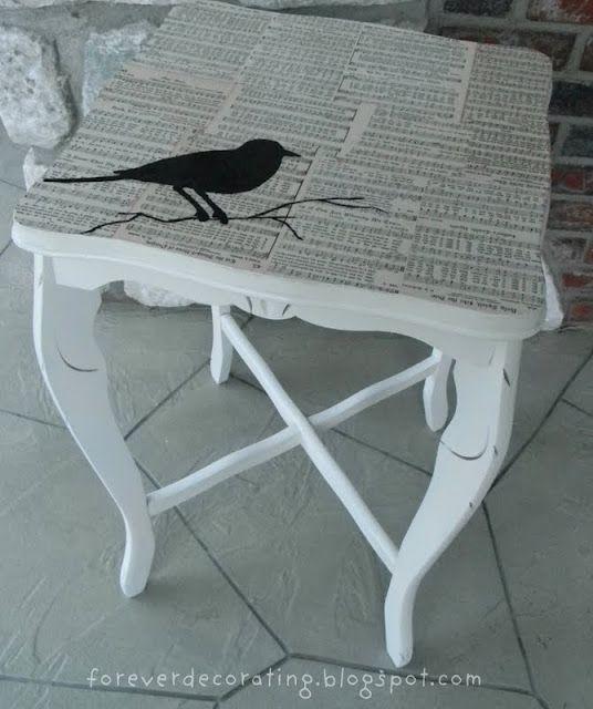 mesas pintadas | Decooo | Pinterest | Mesas pintadas, Pintar y Mesas
