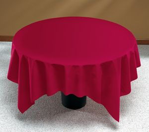 Burgundy Linen Like Paper Tablecloths   82 Inch. Paper TableTable Covers Round ...