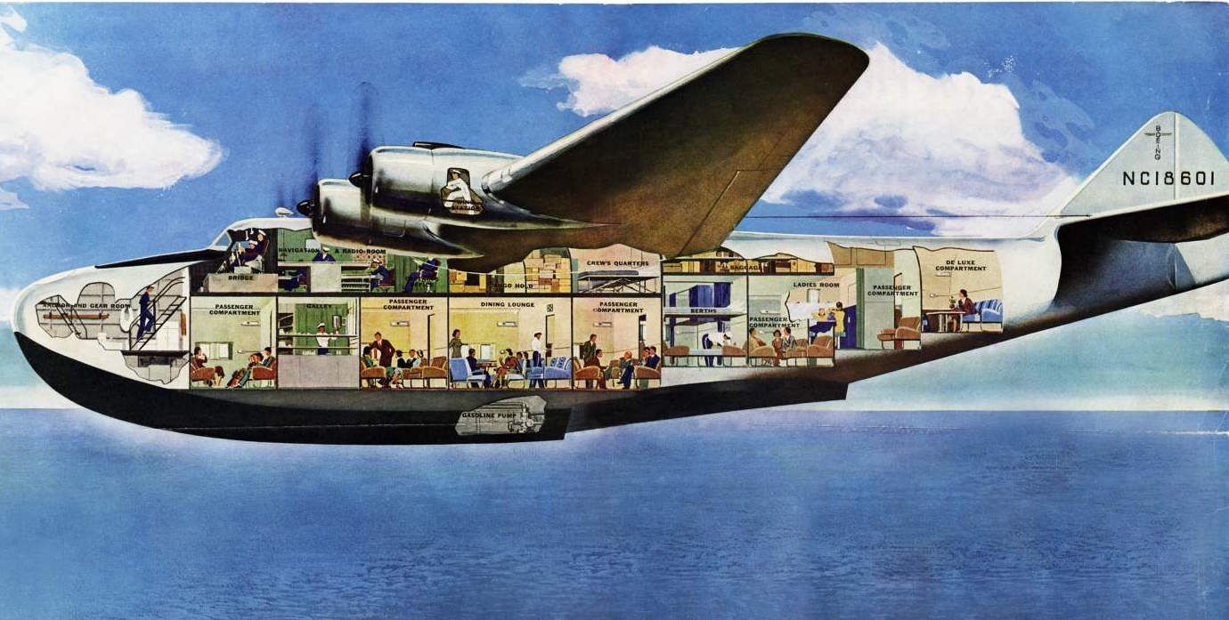 The Long Lost World of the Luxury Flying Boat Flying