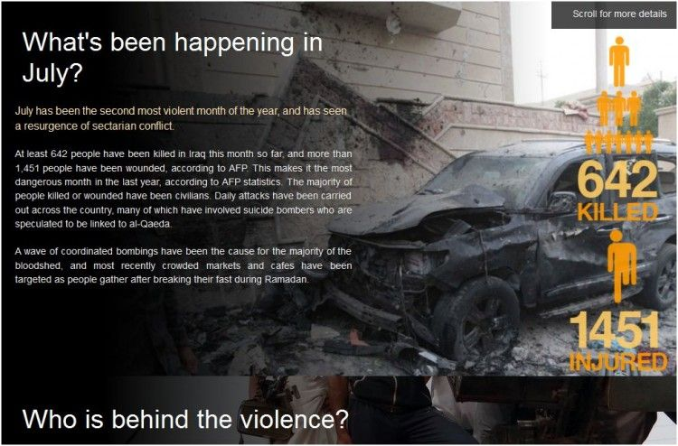 Why is Iraq's violence surging?