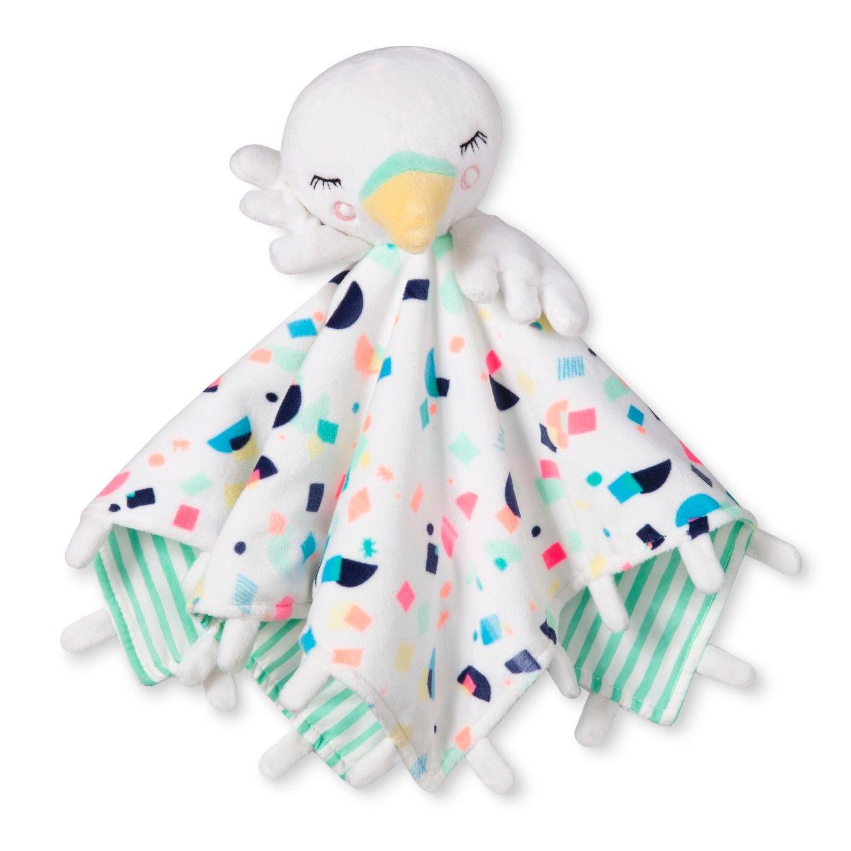 Oh Joy! Lovie Security Blanket Swan Mint/White