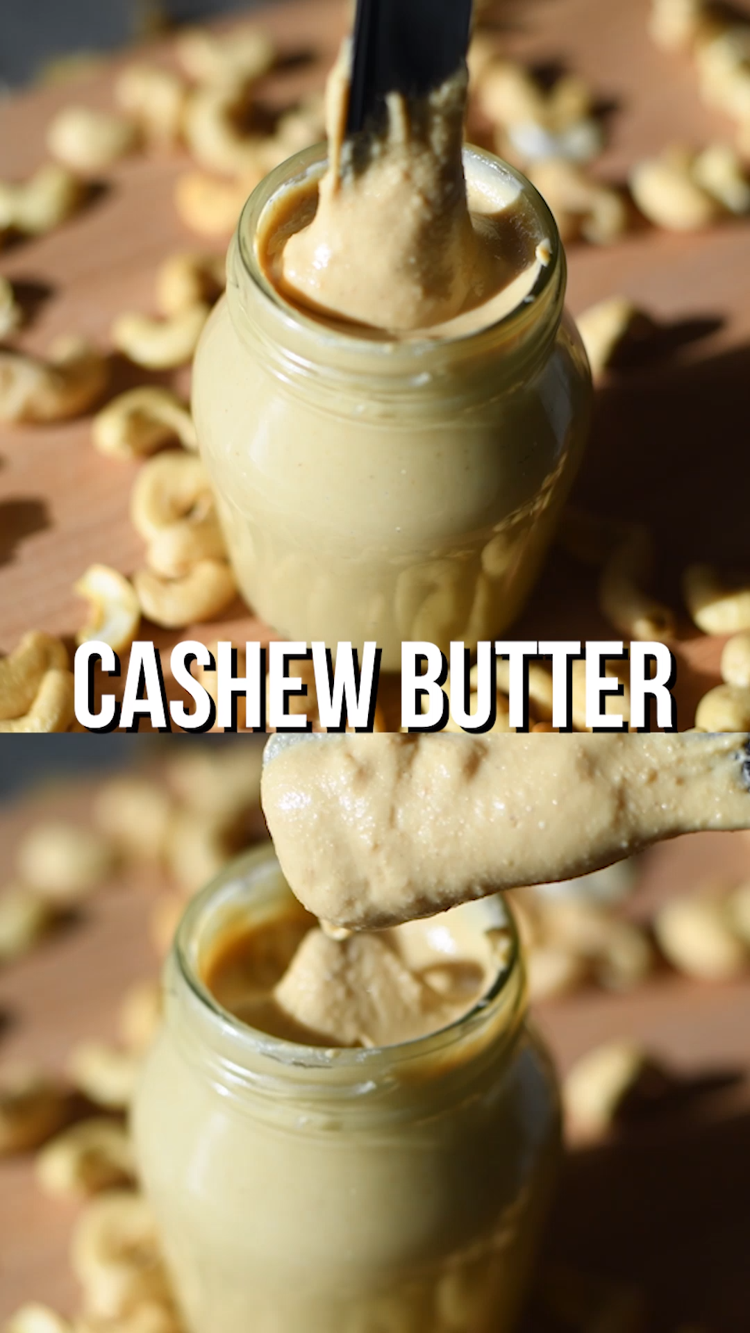 Cashew Butter Recipe