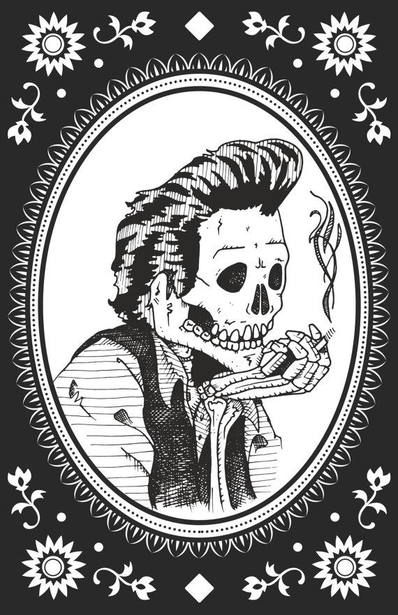 Legends: The Man in Black   Johnny cash tattoo, Guy ...