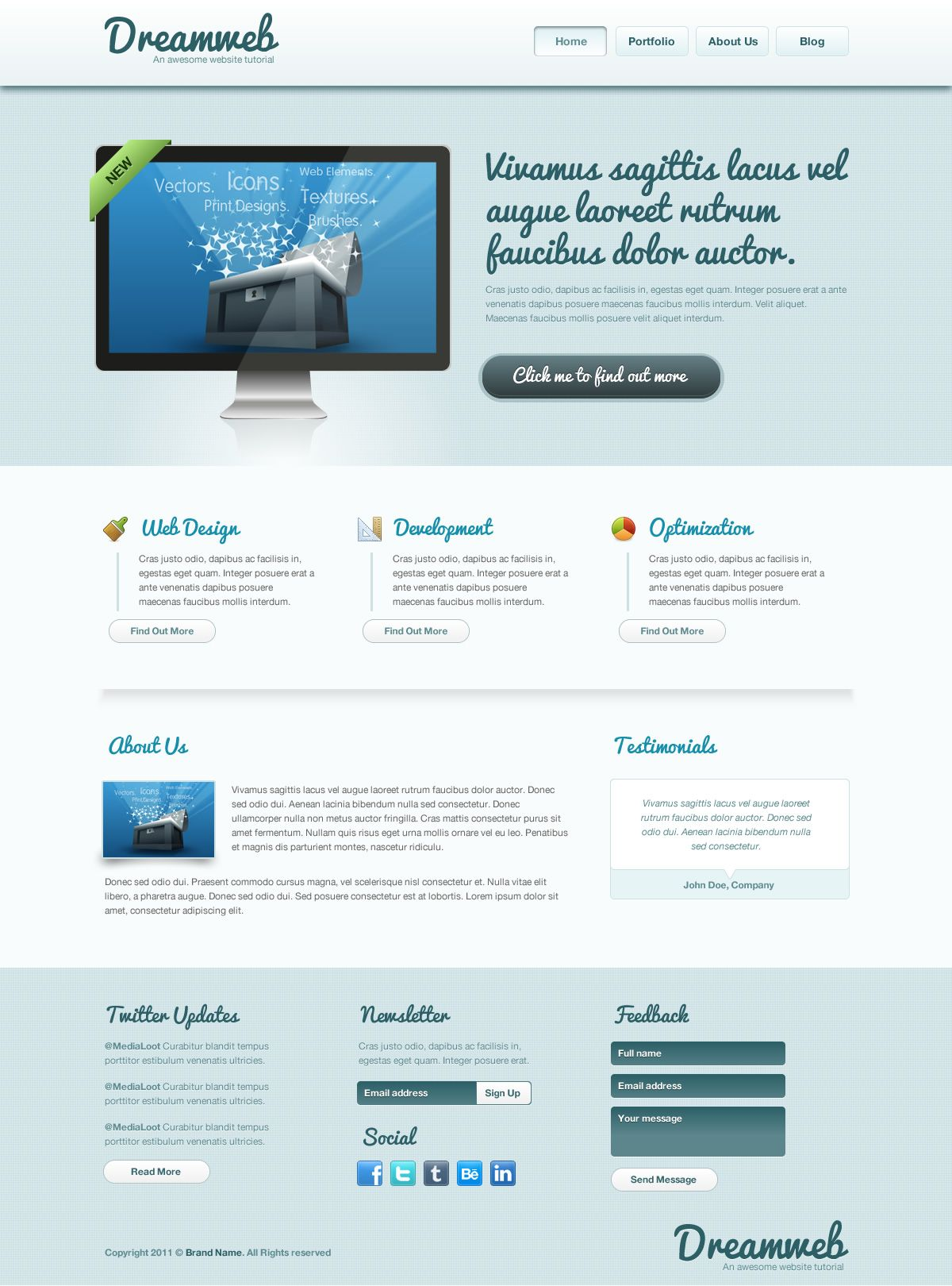 How to code a clean website template in html5 css3 medialoot how to code a clean website template in html5 css3 medialoot maxwellsz