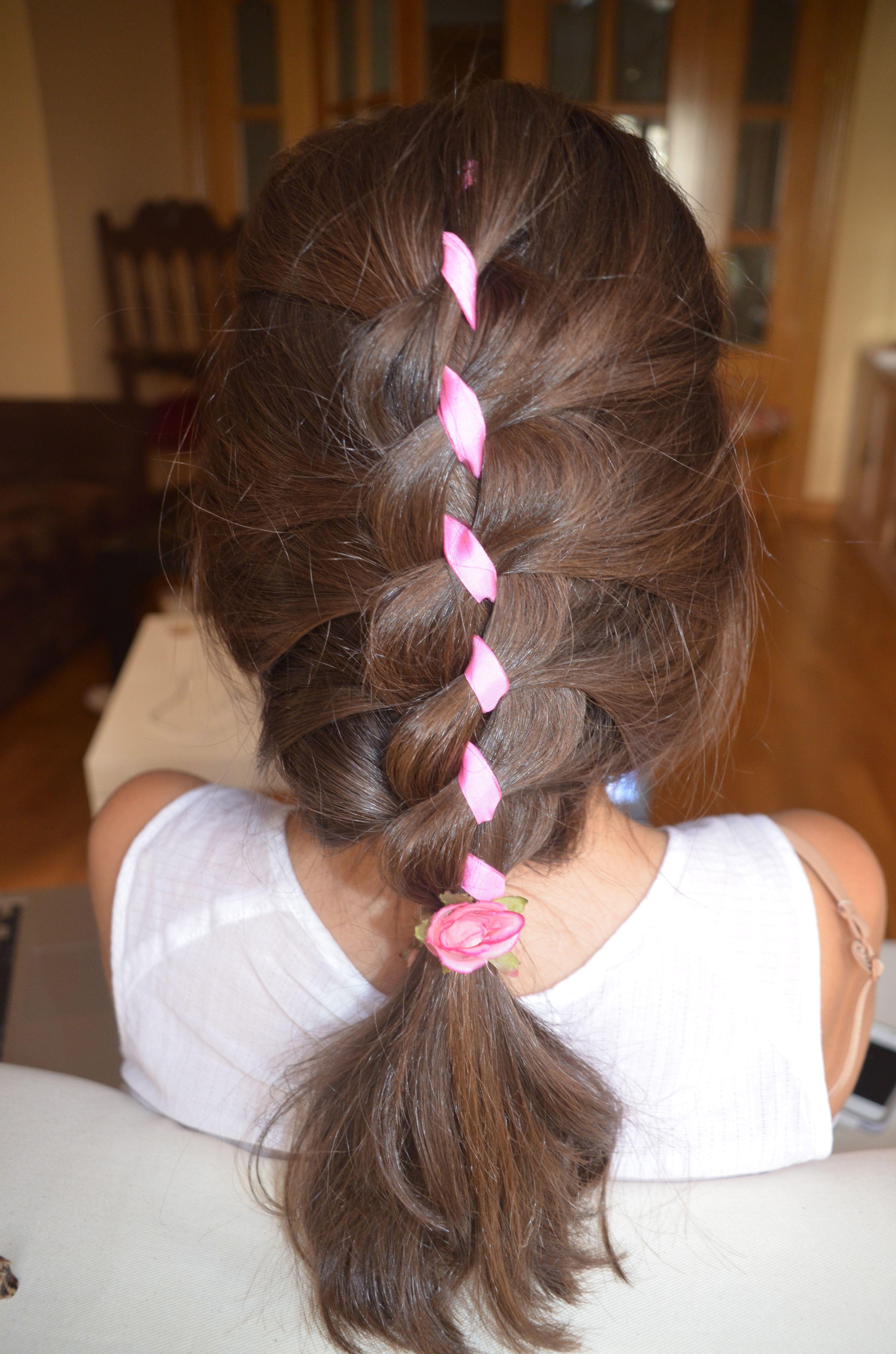 Ribbon four strand braid