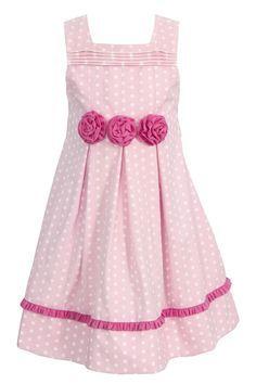 festliches m dchen kleid rosa von e schatztruhe auf. Black Bedroom Furniture Sets. Home Design Ideas