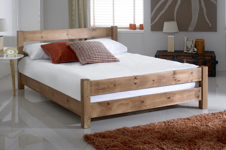 Taylor Wooden Bed Frame in 2020 Wooden bed frames
