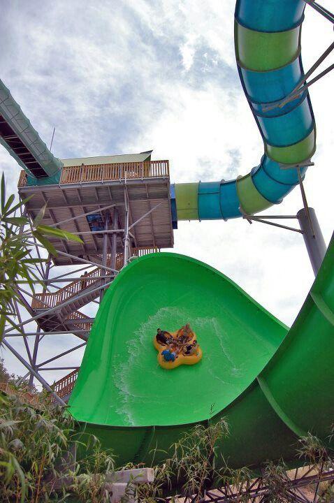 Waterslide Aquatica In Sea World San Antonio Amusement