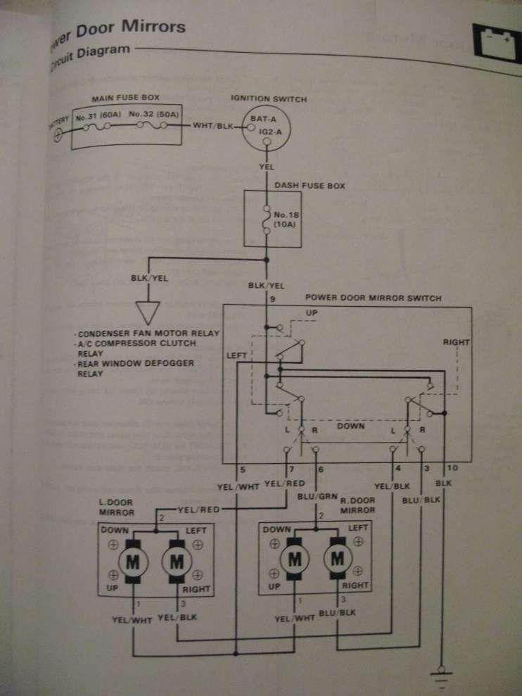 Door Lock Wiring Diagram For 1998 Honda Civic