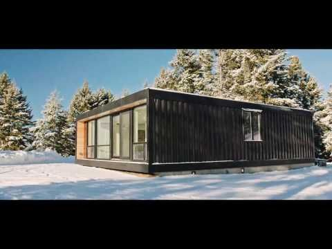 these efficient modern prefabs raise the bar for shipping container rh pinterest com