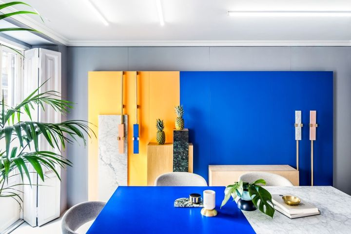 """Regarding to the colour election of the brand, it allows to play continuously with the various brand's colours and choose the most """"trendy"""" colour for each moment and project. This fact shows clearly the versatile nature from Masquespacio as a multidisciplinary design studio that works both on commercial as well as exclusive projects."""