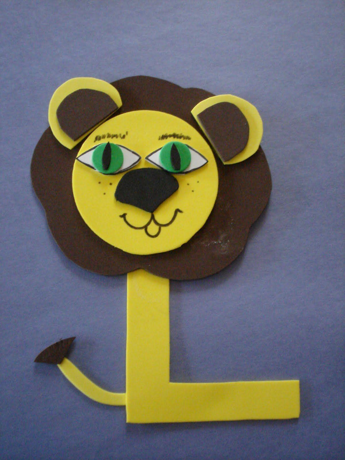 Letter L Lion Craft