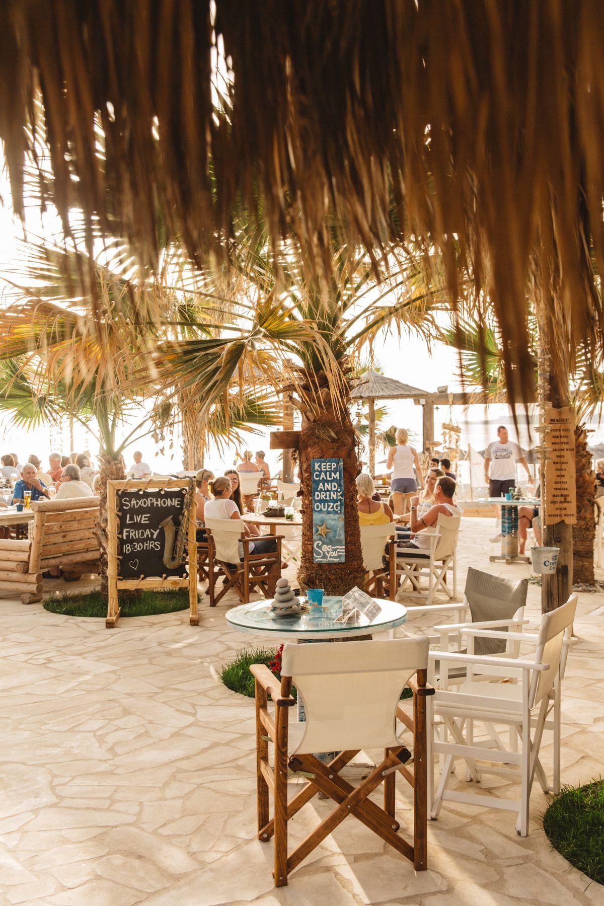 Sea You Beach Bar Potima Bay Paphos Beach Bars Paphos Tiki Bar