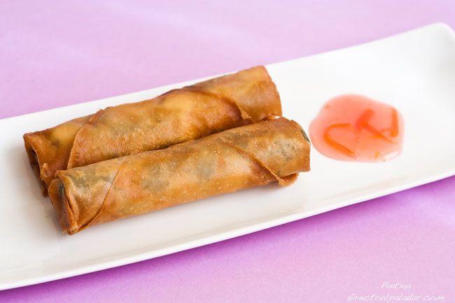 TODAS LAS RECETAS : Receta de rollitos de espinacas, tofu y shiitake