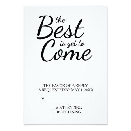 The Best is Yet to Come Wedding Card Wedding card, Marriage gifts - best of invitation party card