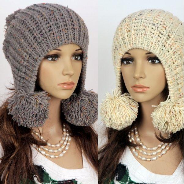 вязаные шапки женские своими руками все лучшее у нас шапки