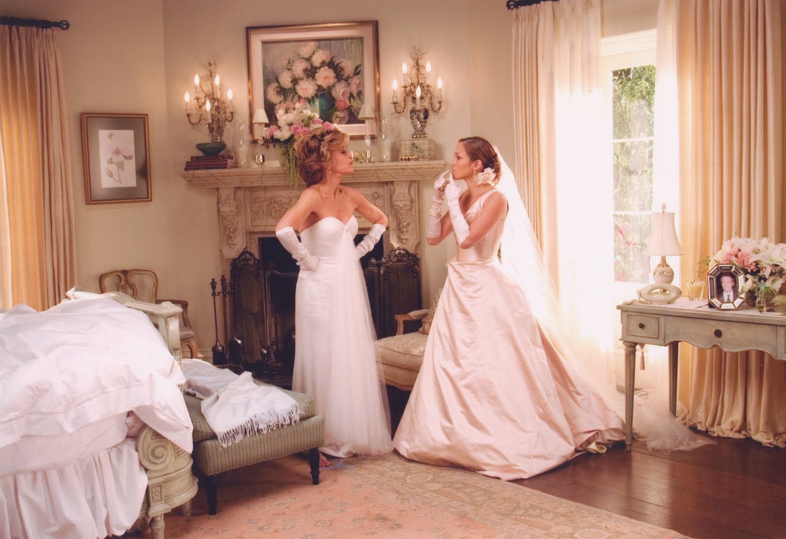 Jennifer Lopez Monster In Law Wedding Movies Movie Wedding Dresses Bride