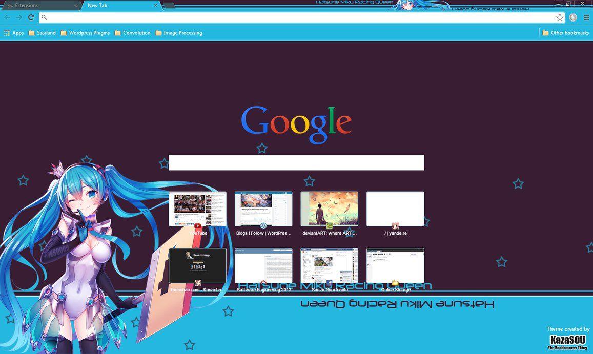 Google themes kawaii - 17 B Sta Bilder Om Temas Google Chrome P Pinterest Sexy Hatsune Miku Och Kungligheter