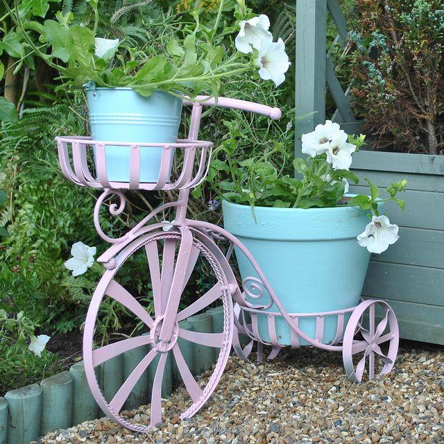 Bicycle Planter Planters Plant Decor Colorful Garden 400 x 300
