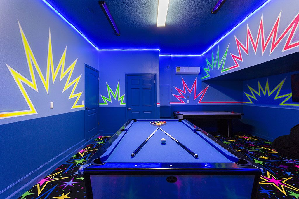 Games Room The Retreat at Champions Gate. Large 8 Bed 5