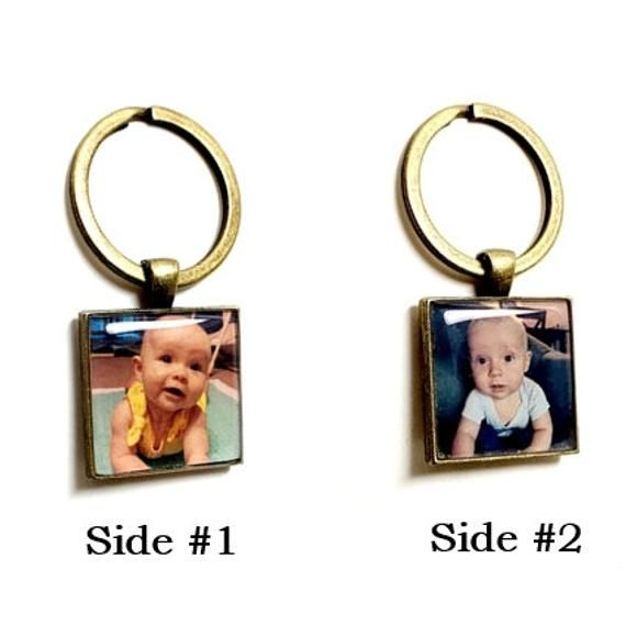 Photo Keychain  Double Sided  Create Your Own Personalized