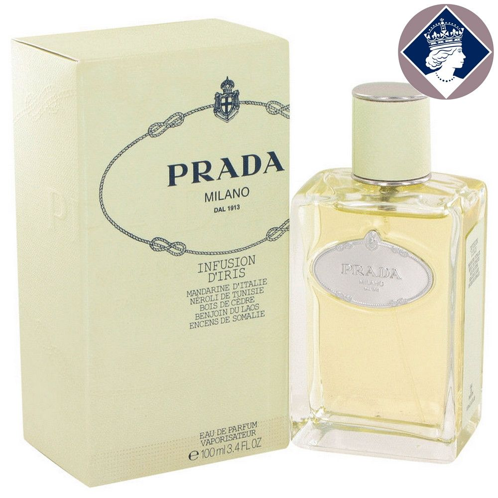Prada Infusion D'iris 100ml/3.4oz Eau De Parfum Spray Perfume Fragrance for Her