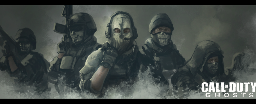 Artwork By Maccola Call Of Duty Ghosts Call Of Duty Marketing Images