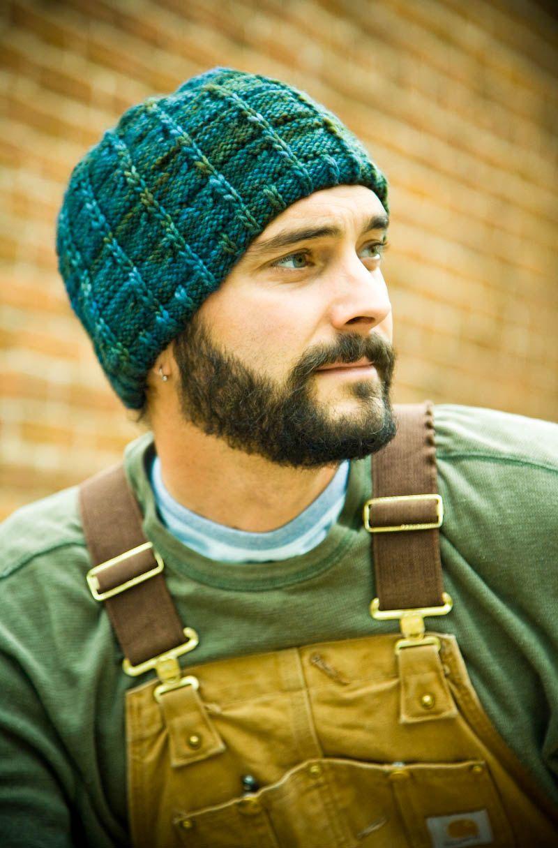 f4ff179e343 Men s Hat Knitting Pattern - J.T. (Pattern PDF).  4.50