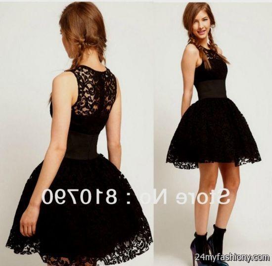 Elegant Black black cocktail dress for wedding
