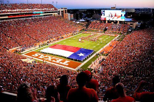 Texas Longhorns Football Darrell K Royal Texas Memorial Stadium