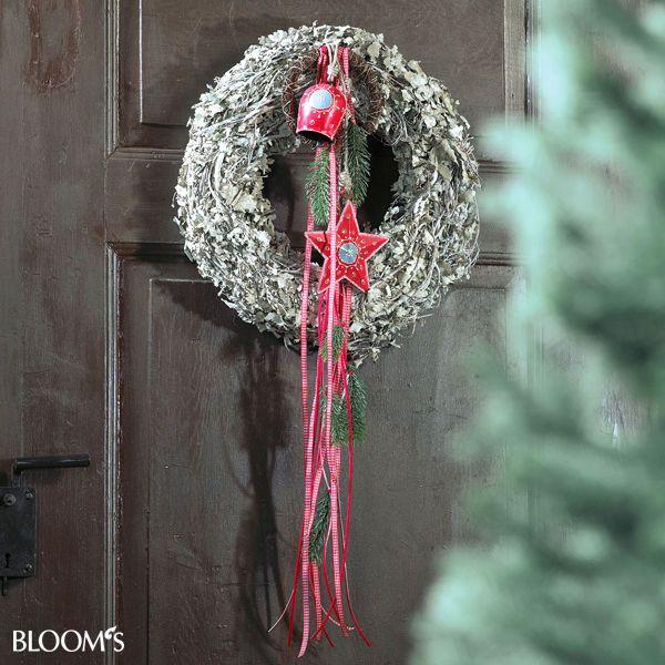 weihnachtsfloristik im landhausstil t rkr nze. Black Bedroom Furniture Sets. Home Design Ideas