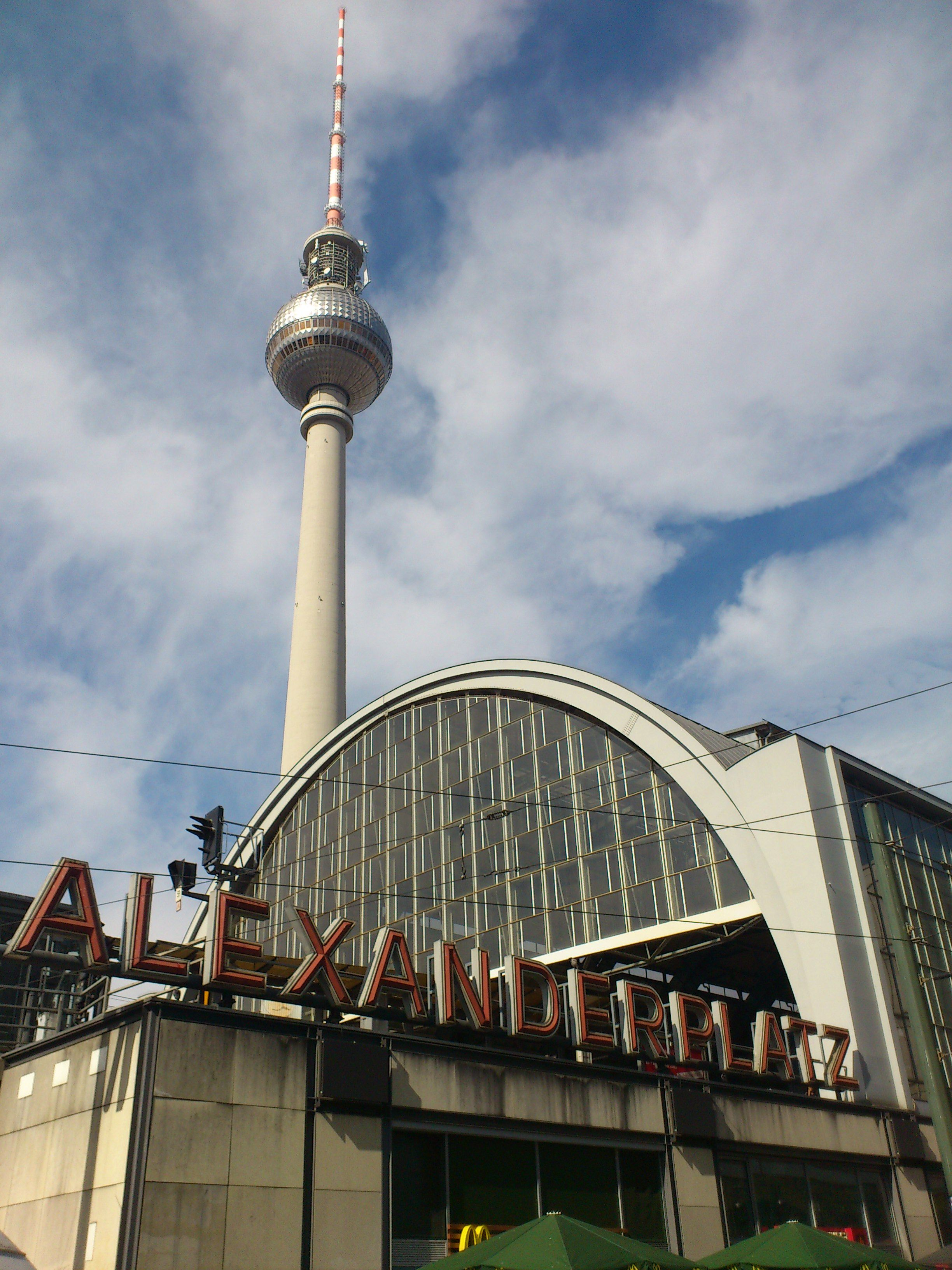 I Stood On The Alexanderplatz One Of The Greatest Sights Of Berlin About The Great Mobility Of People Here In Berlin I Was Ver Germany Favorite Places Berlin