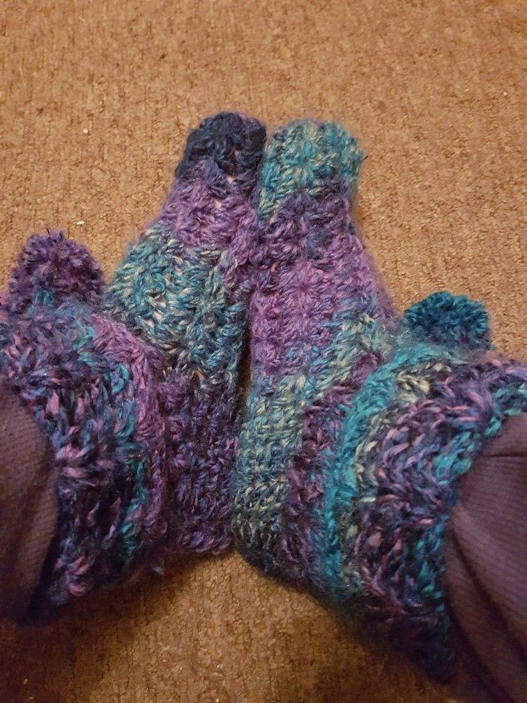Delightful slipper booties ❤